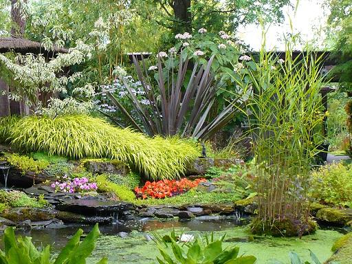 Jardin merveilleux - Petit jardin luxuriant poitiers ...